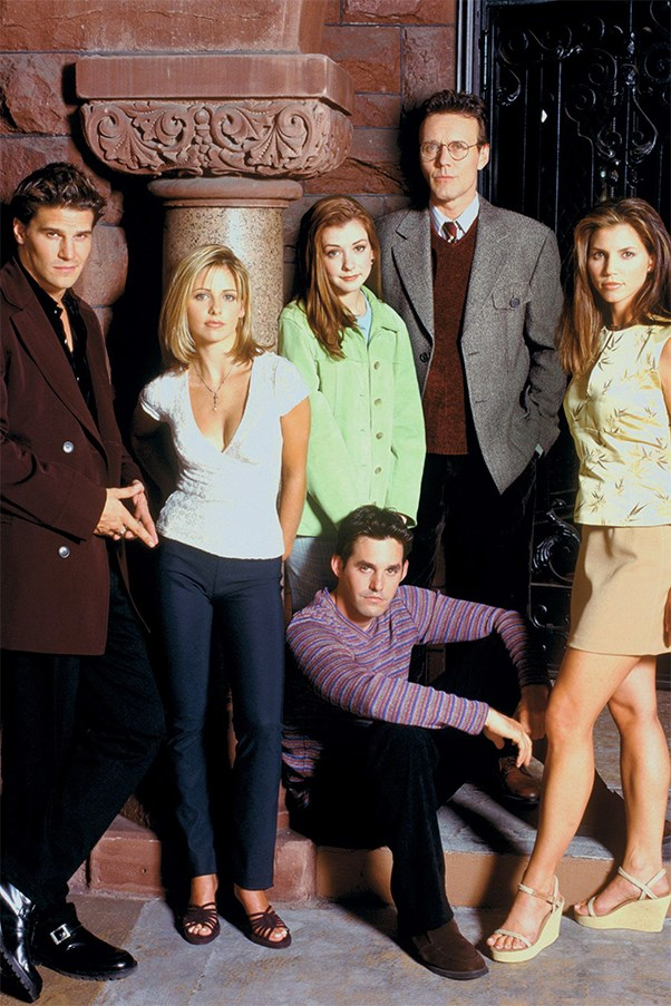 Buffy The Vampire Slayer cast.