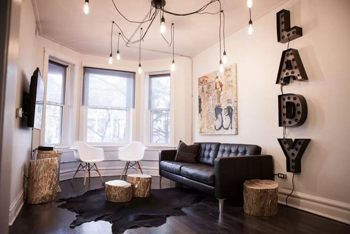 "<p> The Place: <a href=""https://www.airbnb.com.au/rooms/4485911?s=lPtj8xIA"">LUX LIVIN' IN LAKEVIEW, Chicago</a>.<p> <p> The Perks: A decked-out two-bedder in Chicago's heart, this apartment is a decorator's dream.<p> <p> The Pricetag: $6,101 AUD a night.<p>"