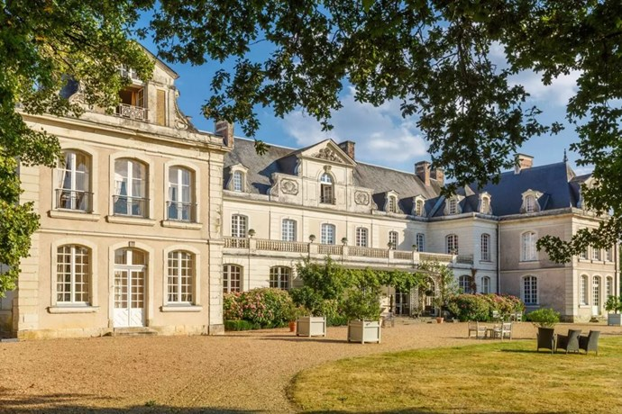 "<p> The Place: <a href=""https://www.airbnb.com.au/rooms/562857?af=1148800&c=direct_link"">Private Chateau in the Loire Valley, Champigné, Pays de la Loire, France</a>.<p> <p> The Perks: Besides being a private 17-bedroom chateau in the French countryside, this place also comes with log cabins, sauna, outdoor swimming pool, tennis court, bicycles, French billiards, ping pong, balmington and a trampoline.<p> <p> The Pricetag: $13,141 AUD a night.<p>"