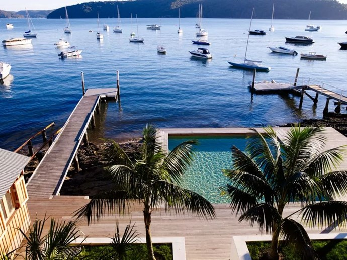 "<p> The Place: <a href=""https://www.airbnb.com.au/rooms/5920943"">Gaelforce, Palm Beach, NSW</a>.<p> <p> The Perks: A contemporary bohemian mansion with it's own private jetty off the bay of Palm Beach.<p> <p> The Pricetag: $2,502 AUD a night.<p>"