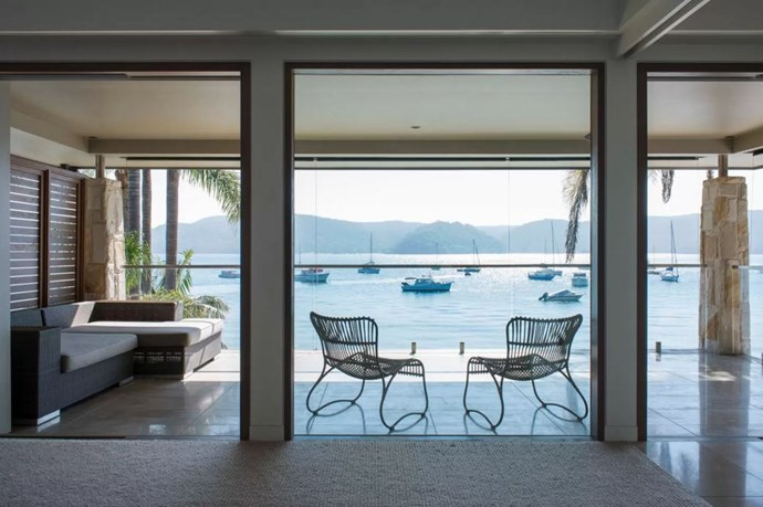 "<p> The Place: <a href=""https://www.airbnb.com.au/rooms/9979116?s=b49AXz1z"">Pittwater, Palm Beach, NSW</a>.<p> <p> The Perks: A five bedroom waterfront mansion complete with a backyard, a patio and a balcony.<p> <p> The Pricetag: $2,234 AUD a night.<p>"