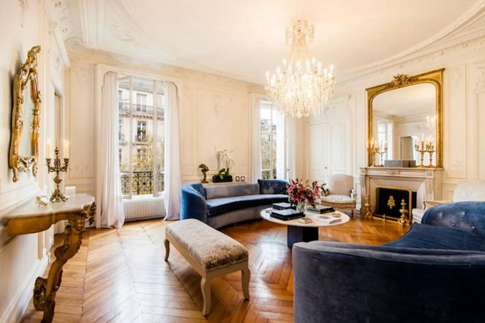 "<p> The Place: <a href=""https://www.airbnb.com.au/rooms/10351059?s=8MvrJqEz"">Eiffel Tower Luxury Appartment, Paris, Île-de-France, France</a>.<p> <p> The Perks: The perfect three bedroom classic French apartment with Eiffel tower views and a private driver.<p> <p> The Pricetag: $1,520 AUD a night.<p>"