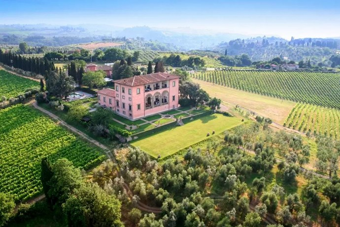 "<p> The Place: <a href=""https://www.airbnb.co.uk/rooms/5568730"">Villa Machiavelli, Chiesanuova, Toscana, Italy</a>.<p> <p> The Perks: A eight-bedroom, fully staffed luxury villa in the heart of Toscana.<p> <p> The Pricetag: $10,085 AUD a night.<p>"