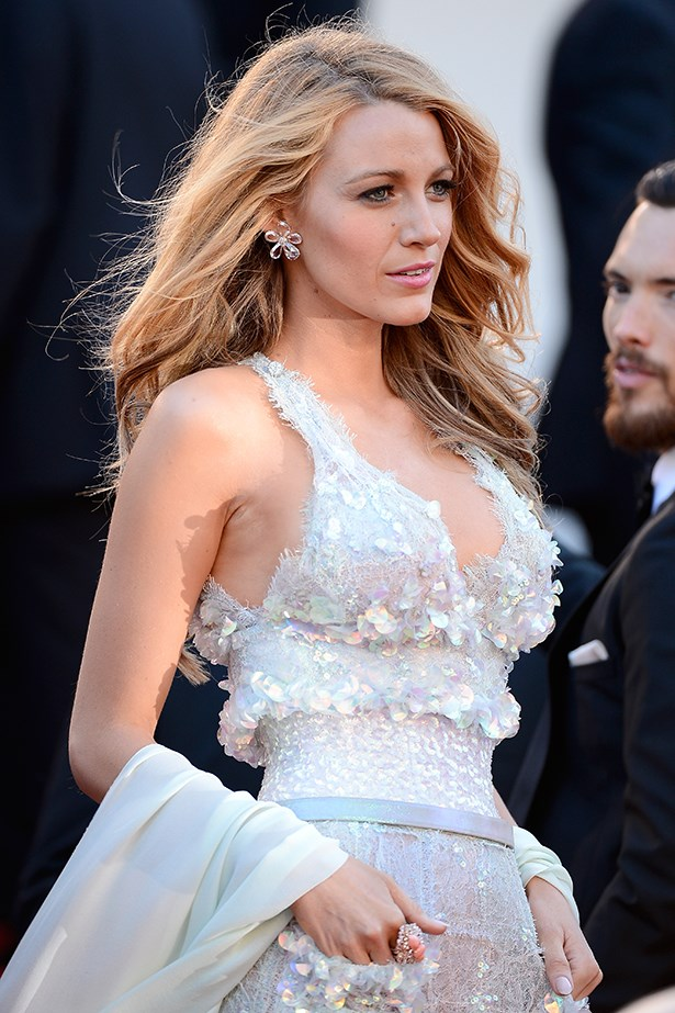 Blake Lively reported uses mayonnaise on the ends of her hair to keep them moisturized. Hmmmmmm tasty.