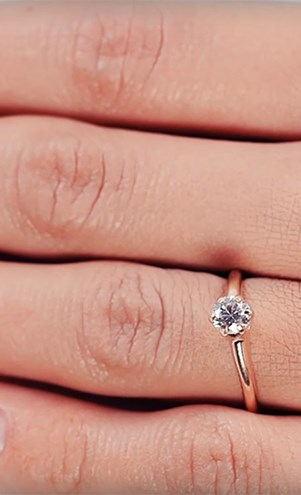 100 years of engagement rings.