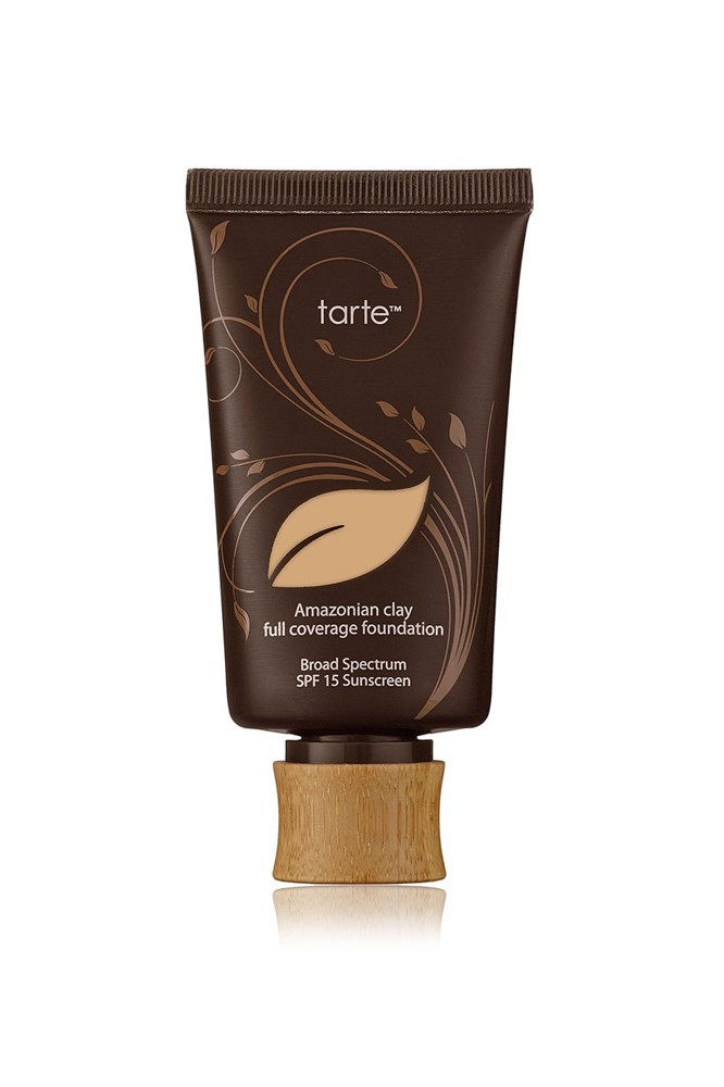 "<strong><a href=""http://tartecosmetics.com/"">Amazonian Clay 12-Hour Full Coverage Foundation SPF15, $62 for 50ml, Tarte</a></strong><br> Features and culture editor Laura Collins favours this medium-coverage matte foundation for her ""unpredictable"" skin, as it's not too heavy-on, but easily buildable if she requires extra coverage."