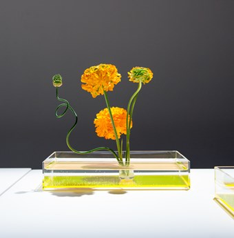 <em>An example of Ikebana by Takashi Kimura of Plantica</em>