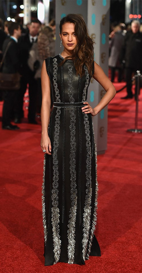 <strong>Sexiest International Import</strong> <br><br> Alicia Vikander