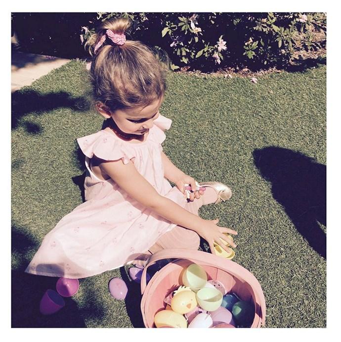 """Lily Aldridge: """"Happy Easter""""."""