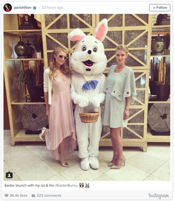 Nicky and Paris Hilton.