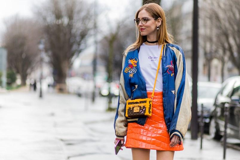 Bomber Jacket Street Style Trend : Elle
