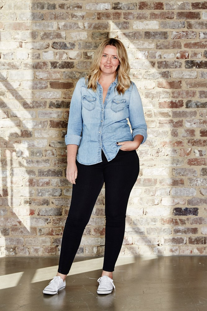 "<strong>Amy Starr, beauty and lifestyle associate</strong><br> <em>Denim shirt by Gap</em><br> ""A denim shirt has the casual-cool of jeans, without, you know, actually having to wear jeans. I sometimes feel too fussy and formal in shirts, but the soft denim and rolled-up sleeves let it feel a little more lived-in."""
