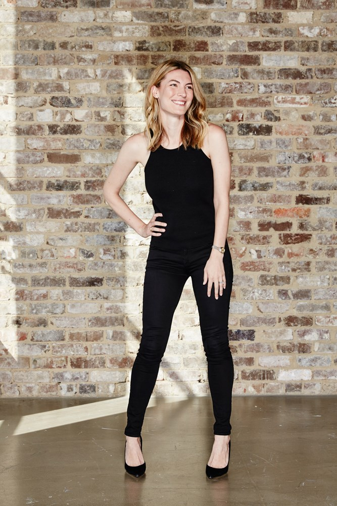 "<strong>Janna Johnson O'Toole, beauty and fitness director</strong><br> <em>Black skinny jeans by 7 For All Mankind </em><br> ""Black skinny jeans are THE easiest thing to dress up or dress down, and are the foundation of my cool-weather wardrobe. I love the fit of Uniqlo, Rag & Bone and 7 For All Mankind."""