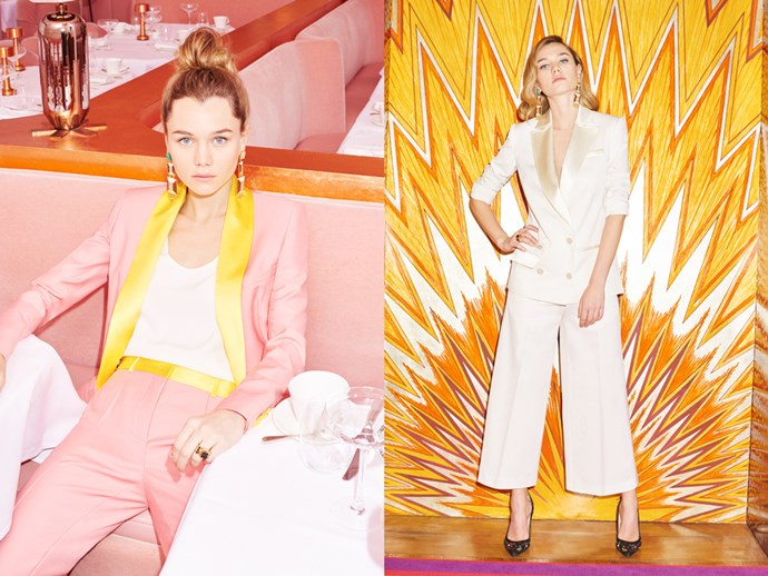 "<strong>RACIL</strong><br> Luxe evening tuxedos for ladies: it's a niche and Racil has got it covered. Born in Beirut, raised in Paris, based in London and with a penchant for New York, designer Racil Chalhoub has seen her fair share of evening wear—and she's decided to put a playful spin on it. Think shiny silk, perfect slips and sporadic bursts of multicoloured crystal studs.<br> <a href=""http://www.racil.com/"">racil.com</a> / <a href=""https://www.instagram.com/_racil_/?hl=en"">@_racil_</a><br><br><em>This story originally appeared in the March issue of ELLE Australia.</em>"