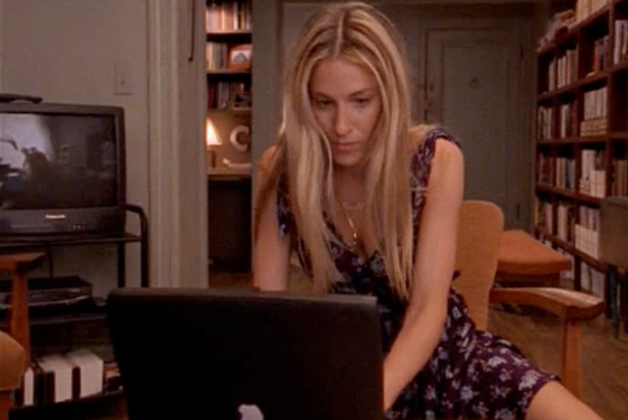 Sarah Jessica Parker as Carrie Bradshaw on 'Sex And The City'