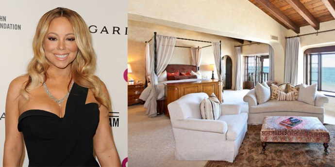 "<p> <strong>Malibu, California.</strong><p> <p> Mariah Carey spent a month relaxing with her family in this four-bedroom home on Malibu's ""Billionaire's Beach"" over the summer. $10,000 a night may sound like a lot, but you can't put a price on calling  David Geffen and Charlize Theron your neighbors!"