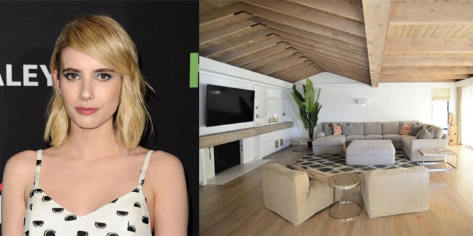 "<p> <strong>Malibu, California.</strong><p> <p> Emma Roberts rang in the new year with former fiancé Evan Peters at <a href=""https://www.airbnb.com/rooms/9230014"">this five-bedroom beachside property in Malibu</a>. Roberts enjoyed her staycation so much, she posted a photo to her Instagram account."