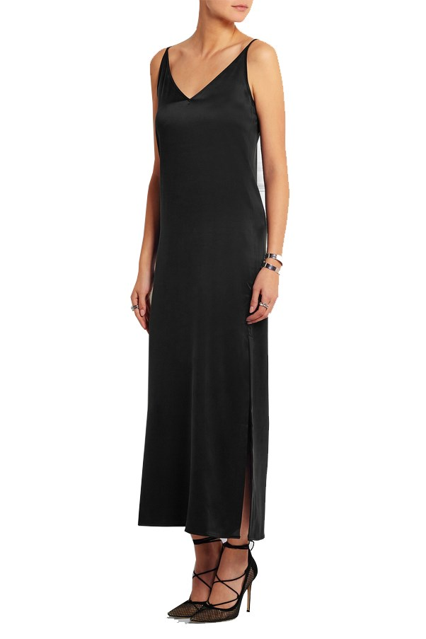 "<a href=""https://www.net-a-porter.com/au/en/product/638286/Equipment/racquel-silk-charmeuse-maxi-dress"">Equipment Racquel silk-charmeuse maxi dress</a>, $620 AUD."