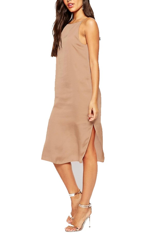 "<a href=""http://www.asos.com/au/asos/asos-midi-cami-slip-dress-in-hammered-satin/prod/pgeproduct.aspx?iid=5979506&clr=Pink&SearchQuery=slip+dress&pgesize=36&pge=0&totalstyles=364&gridsize=3&gridrow=5&gridcolumn=1"">ASOS Midi Cami Slip Dress in Hammered Satin</a>, $53 AUD."