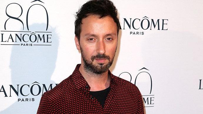 Designer Anthony Vaccarello