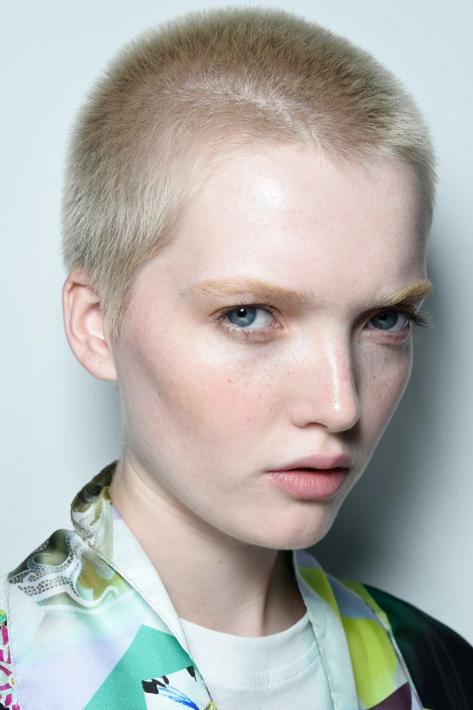 Beauty backstage at Etro