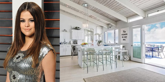 "<p> Malibu, California<p> <p> Selena Gomez and a bunch of her lady friends stayed in <a href=""https://www.airbnb.com.au/rooms/6812007?guests=1&s=MFgGvS_f"">this glorious Malibu beach house</a> over the weekend, which comes equipped with four bedrooms, custom-made fire pit, Michelin-star trained chef on hand, and, of course, an optional yacht charter. Obviously."