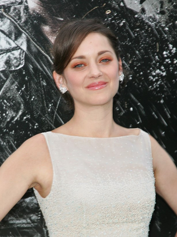 Marion Cotillard, French goddess, wore it to the premiere of The Dark Knight Rises in 2012.