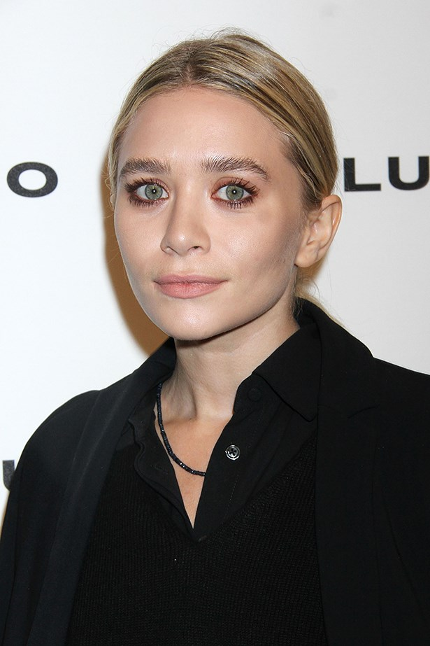 Ashley Olsen rocked a sparkly muted orange way back in 2013 to great affect.