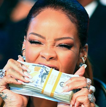 Rihanna money