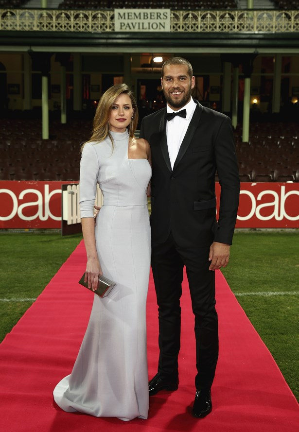 In Steven Khalil at the 2014 Brownlow.