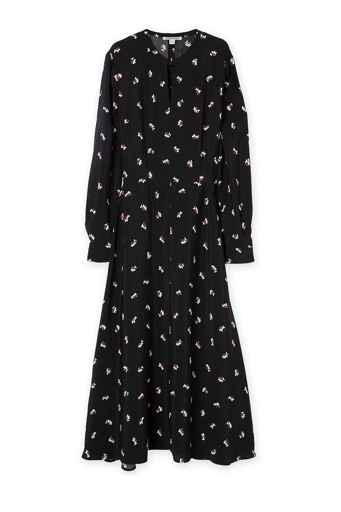 """<a href=""""http://www.countryroad.com.au/shop/woman/clothing/dresses/floral-midi-dress-60194693"""">Dress, $199, Country Road</a>"""