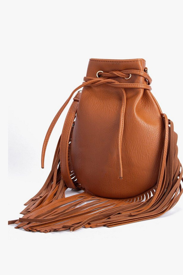 "<a href=""http://www.boohoo.com/new-in-accessories/eva-fringed-eyelet-detail-cross-body-bag/invt/dzz84740"">Eva Fringed bag</a>, $28, Boohoo"