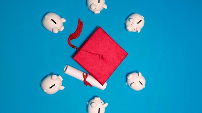Graduation cap.