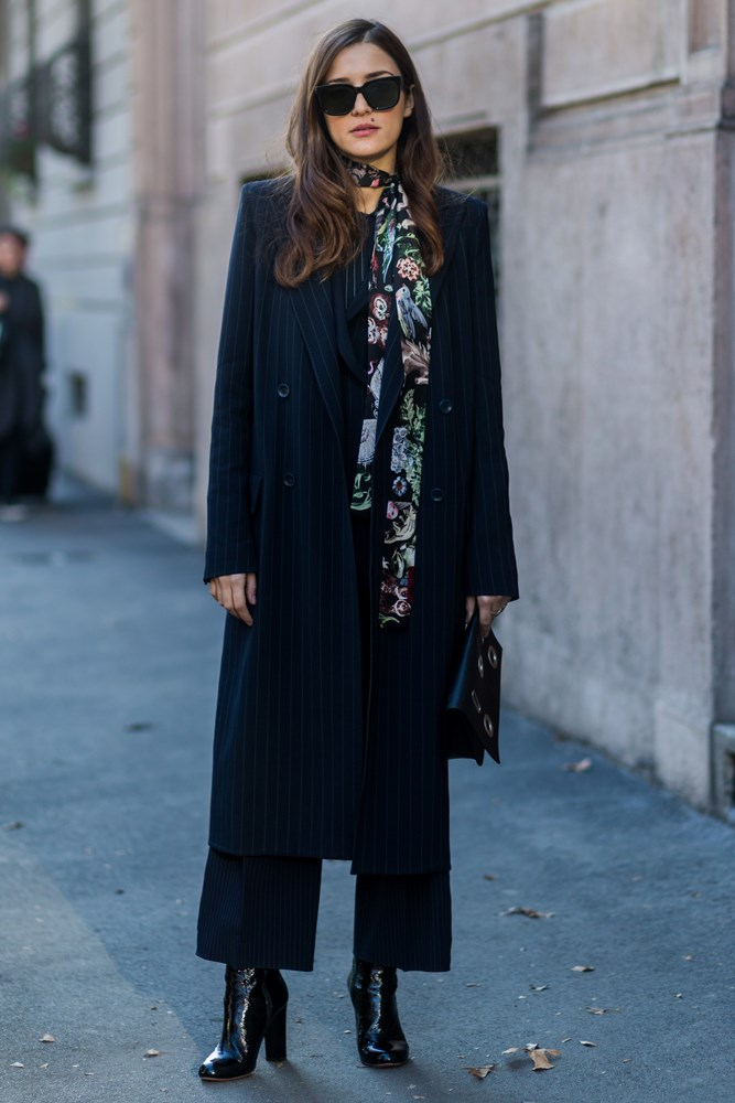 Eleonora Carisi at Men's Milan Fashion Week.