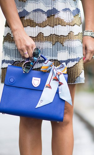Put a bow on it: Dior's 'Diorever' handbag