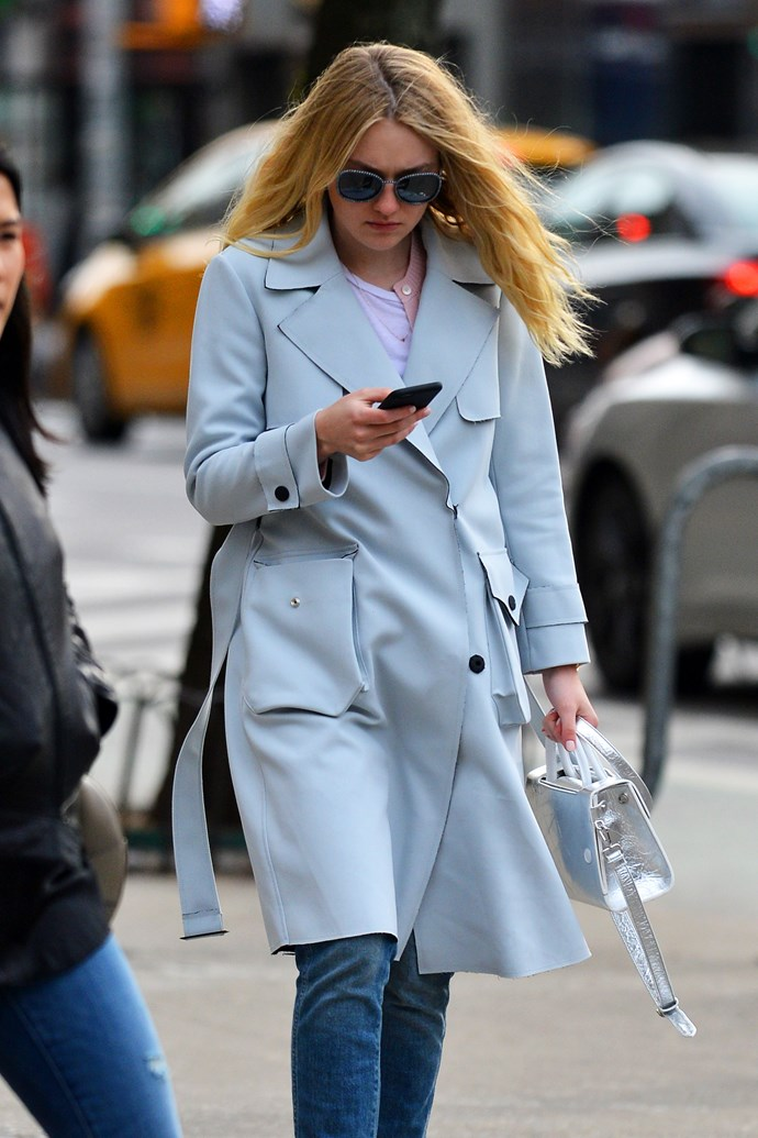 Dakota Fanning <br><br> Photo: Dior