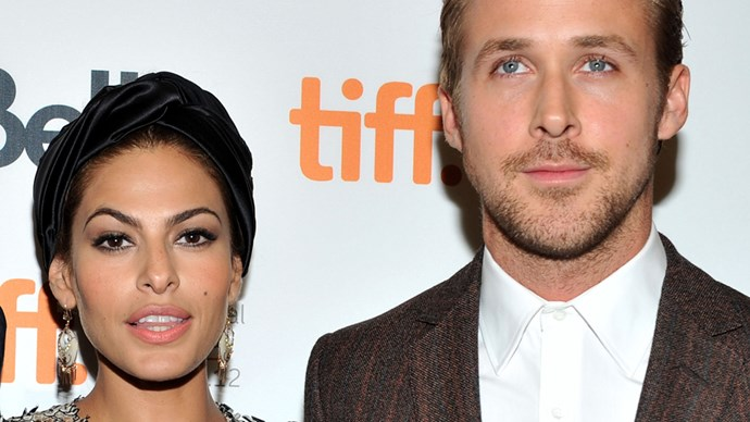 Eva Mendes and Ryan Gosling.