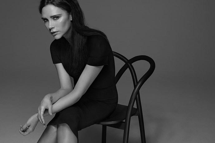 Victoria Beckham Estee Lauder makeup