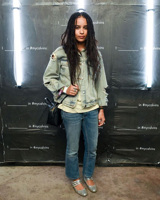<strong>ZOE KRAVITZ</strong>