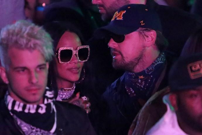 Rihanna Leonardo DiCaprio