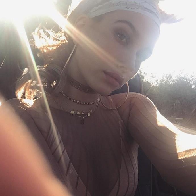 "Hailey Baldwin<br><br><a href=""http://www.instagram.com/haileybaldwin"">Instagram.com/haileybaldwin</a>"