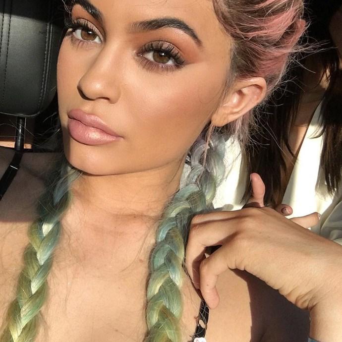 "Kylie Jenner<br><br><a href=""http://www.instagram.com/kyliejenner"">Instagram.com/kyliejenner</a>"
