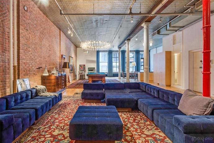 "Image via <a href=""http://ny.curbed.com/2016/4/14/11433672/adam-levine-behati-prinsloo-nyc-apartment"">Curbed NY</a>."