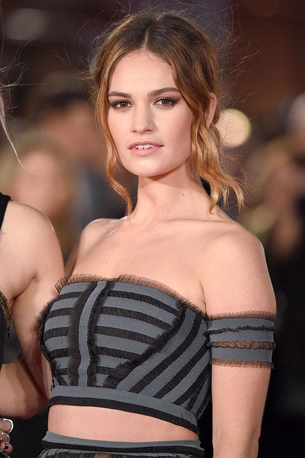 Actress Lily James has been announced as the new face of the My Burberry Black fragrance campaign