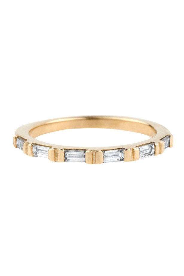 "<a href=""http://bario-neal.com/jewelry/bands/demi-baguette-diamond-band"">Bario Neal Demi-Baguette Diamond Band</a>, $2,100 AUD."
