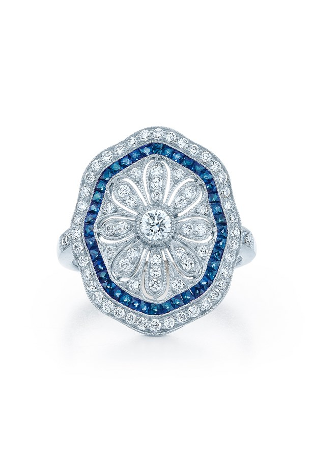 "<a href=""https://kwiat.com/product/rings/3332/"">Kwait Vintage Ring</a>, $7,450 AUD."