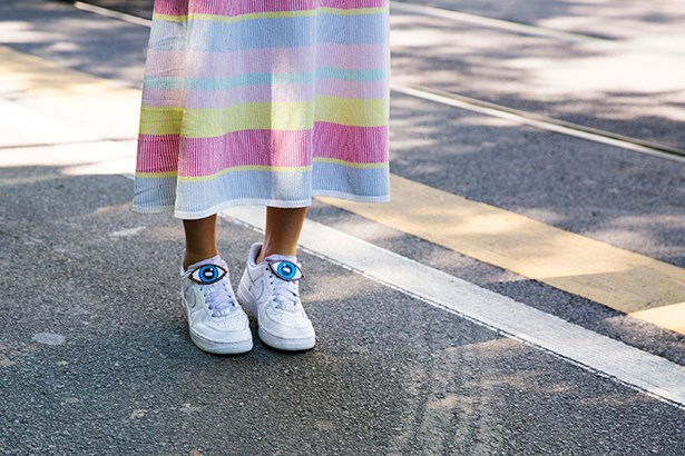 """Cult kicks give instant street-cred to sugary stripes — especially with optional add-ons."""