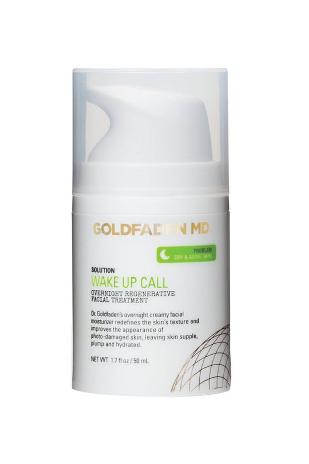 """<p> The Doctor-Approved Anti-Ager<p> <p> US dermatologist Dr Gary Goldfaden uses plant-based complexes and antioxidants in his natural skincare line, which landed here last year. It's also free of parabens, silicone, alcohol and even gluten. This night cream has age-fighting co-enzyme Q10 retinol (from carrots), vitamin E, and grape seed and avocado oils to treat your skin while you sleep.<p> <p> <a href=""""http://mecca.com.au/goldfaden-md/wake-up-call/I-021948.html"""">Wake up Call, $136, Goldfaden MD at mecca.com.au</a>"""