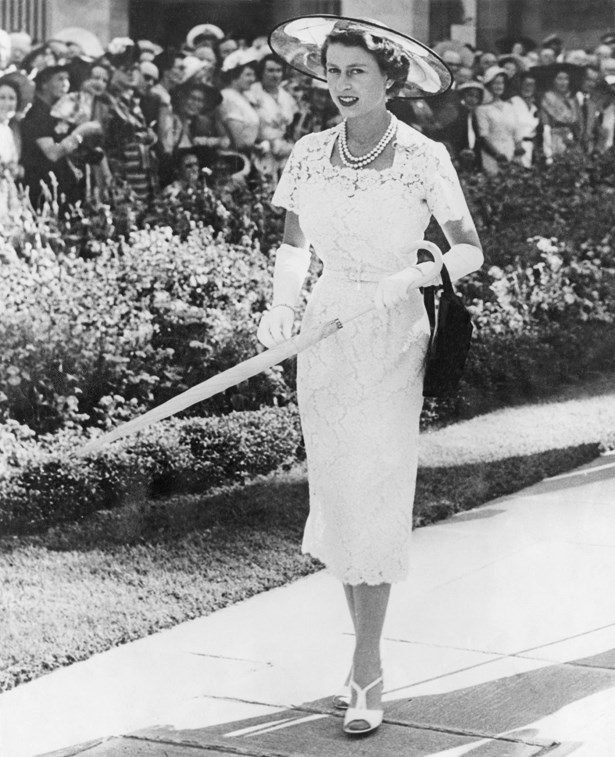Queen Elizabeth 1953.