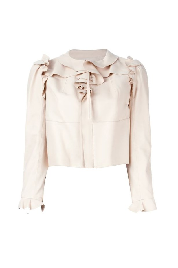 "<a href=""http://www.farfetch.com/uk/shopping/women/Alexander-McQueen-cropped-ruffled-jacket-item-11372430.aspx?storeid=9306&size=19&origin=product-search&bfdqbt=%7Bkeyword%7D&source=%7Bifpla:pla%7D%7Bifpe:pe%7D&utm_source=gcdL/ATRVoE&utm_medium=affiliate&utm_campaign=Linkshareuk&utm_content=10&utm_term=UKNetwork"">Cropped Ruffle Jacket, $4,986.54, Alexander Mcqueen at farfetch.com</a>"